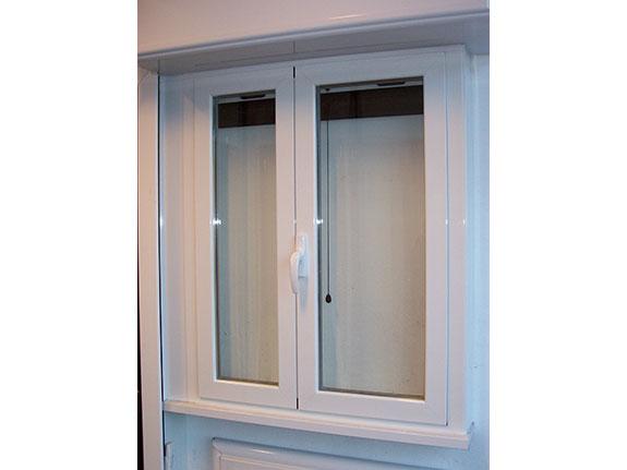 Finestre in alluminio alfa for Finestra legno bianco