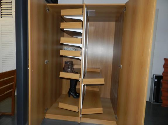 Progetto Cabina Armadio Songs : Scarpiera cabina armadio coppia di scarpiere atlantic a ante